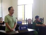 Residente en ciudad de Can Tho recibe pena de cárcel por violar intereses del Estado vietnamita