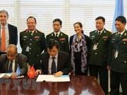 Vietnam y ONU firman memorando sobre envío de hospital de campaña a Sudán del Sur