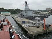 Barco de Armada Popular de Vietnam visita Japón