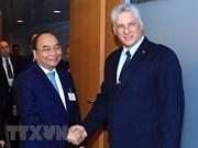 Premier de Vietnam cumple apretada agenda de trabajo en Nueva York