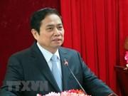 Dirigente vietnamita recibe a delegación del Partido Comunista de China