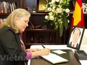 Senadores estadounidenses destacan aporte del presidente Tran Dai Quang a nexos bilaterales