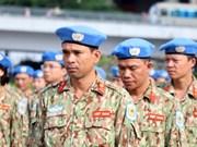 Destacan papel de los cascos azules vietnamitas como mensajeros de paz, cultura y fuerza militar de su país