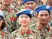 Participar en misiones de paz de ONU materializa la política exterior de Vietnam, afirma su viceministro de Defensa