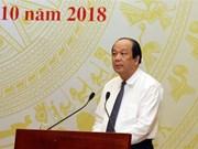 Buena perspectiva económica para Vietnam en resto de 2018