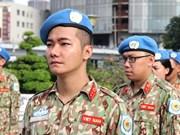 Incorporación de Vietnam a misión de paz: tarea alto valor de asistencia humanitaria