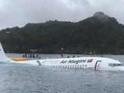 Se encuentran en buen estado de salud ciudadanos vietnamitas a bordo de avión accidentado en Micronesia