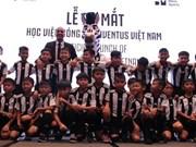 Inauguran academia de fútbol de Juventus en Vietnam