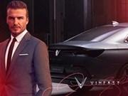 Beckham: Vinfast es un milagro procedente de Vietnam
