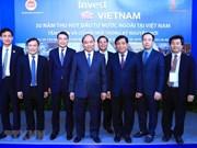 Premier vietnamita ratifica importancia vital de inversión extranjera para el desarrollo nacional