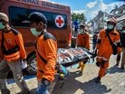 Asciende a más de mil 500 los fallecidos por sismo y tsunami en Indonesia