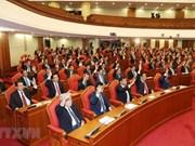 Comité Central del Partido Comunista de Vietnam anuncia resultados de su octavo pleno