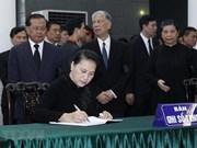 Resaltan legado de Do Muoi, exsecretario general del Partido Comunista de Vietnam