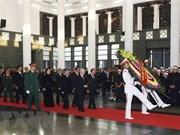 Inician acto fúnebre en homenaje a Do Muoi, exsecretario general del Partido Comunista de Vietnam