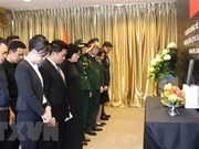 Ceremonias memoriales al exsecretario general Do Muoi en Asia