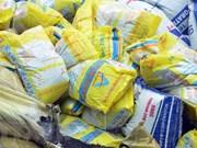 Valor de exportaciones de fertilizantes de Vietnam totaliza 210 millones de dólares