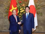 Vietnam y Japón acuerdan medidas para fomentar asociación estratégica bilateral