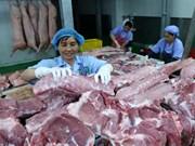Empresas estadounidenses proponen elevar exportaciones de carne de cerdo a Vietnam