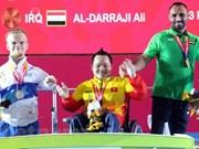 Vietnam obtiene segunda medalla dorada en Juegos Paralímpicos de Asia
