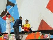 Vietnam gana oro en natación en Juegos Paralímpicos de Asia