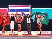 Conquista Vietnam medalla de oro en Campeonato asiático de Culturismo