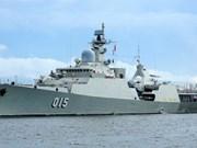 Vietnam participa en desfile naval en Corea del Sur