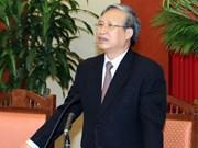 Delegación del Partido Comunista de Vietnam realiza visita a Laos