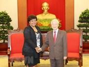 Dirigente partidista vietnamita reitera apoyo a causa revolucionaria del pueblo cubano