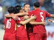 Vietnam se prepara para campeonato sudesteasiático de fútbol