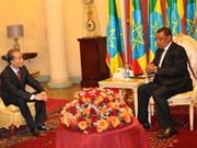 Presidente etíope pide a Vietnam reabrir su embajada en Addis Abeba