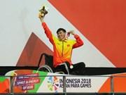 Nadador vietnamita bate récord en Juegos Paralímpicos de Asia