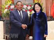 Tanzania es un socio africano prioritario de Vietnam, destaca presidenta interina