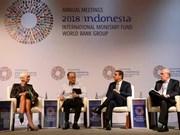 Inauguran conferencia anual del Fondo Monetario Internacional y Banco Mundial