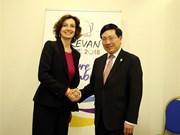 Amplia agenda del vicepremier vietnamita al margen de XVII Cumbre de la Francofonía