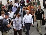 Dirigentes de ONU y BM visitan a zonas afectadas por terremotos y tsunami en Indonesia