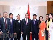Premier vietnamita insta a asistencia mutua entre compatriotas en el extranjero