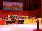 Efectúan Festival de música en saludo al 64 aniversario del Día de Liberación de Hanoi
