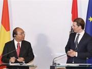 Premier vietnamita confía en desarrollo de relaciones con Austria