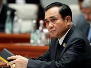 Premier tailandés lanza su campaña electoral en redes sociales