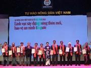 Honran a agricultores destacados de Vietnam durante este año
