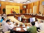 Comité Permanente del Parlamento de Vietnam comienza su reunión 28