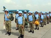 Vietnam concluye envío de combatientes a misiones de paz en Sudán del Sur