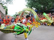 Festival tradicional en provincia vietnamita aspira a convertirse en patrimonio mundial