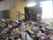 Primera planta de conversión de residuos en energía en Can Tho comienza operación piloto
