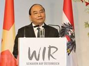 Premier de Vietnam invita a inversiones austriacas en sectores de alta tecnología