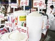 Reducen exportaciones de arroz de Camboya