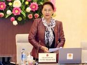 Comité Permanente del Parlamento de Vietnam concluye su reunión 28