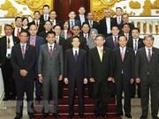 Vicepremier vietnamita recibe a jefes de delegaciones participantes a AMMD-6