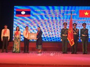 Escuela vietnamita honrada con Orden de Trabajo del Estado de Laos