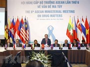 Países de ASEAN persisten en construcción de una comunidad libre de drogas
